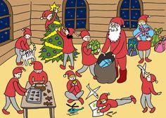 Papunetin joulukalenteri Bastille, Xmas, Christmas, Peanuts Comics, Advent Calenders, Navidad, Navidad, Noel, Noel