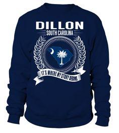Dillon, South Carolina Its Where My Story Begins T-Shirt #Dillon