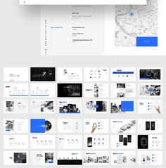 Grids-Minimal Powerpoint Template by Markzugelberg. Get it on MarketMe…