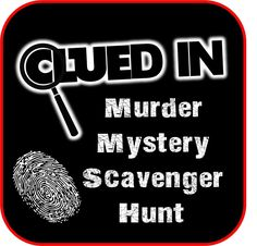 Printable Halloween Scavenger Hunts