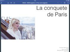 La conquete de Paris su MohMagazine  Photographer: Maria Cristina Franco Model: Yves Chaban Mua: Lucie Tordjam
