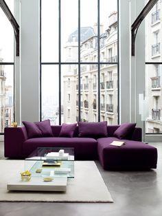 Amazing Iu0027m In Love With This Purple Sofa!! @ Rulph Benzu0027s Design Interior