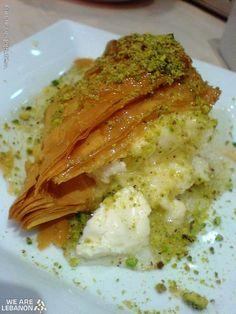 How about some traditional Lebanese sweets? Bon Appetit  شو رأيكن بتحلاية شعيبيّات بالقشطة؟ صحتين  Please join us http://fb.com/WeAreLebanon