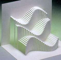 Libros Pop-Up Books Cards: Descarga Gratis Libro Phantastische Papier (Kirigami)… Origami And Kirigami, Origami Paper Art, Diy Paper, Origami Templates, Box Templates, Nirmana 3d, Arte Pop Up, Folding Architecture, Pop Up Karten