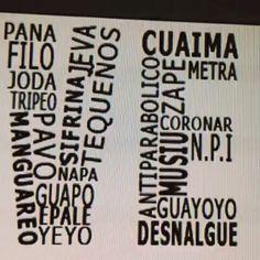 👉 @entrepanasvzla - #PRÓXIMAMENTE 👉Lo que nos identifica como venezolanos es entre otras cosas: NUESTRA FORMA DE HABLAR ✌💛💙❤…