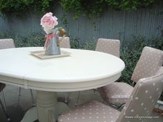 Restyled Vintage: French Country Style Dining Suite