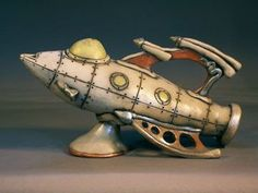 rocket ship teapot - Google Search