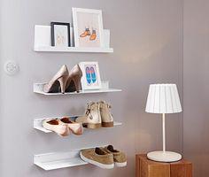 2 Schuh-Wandregale online bestellen bei Tchibo 312451