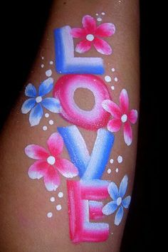 Simple and sweet Face Painting Images, Face Painting Flowers, Girl Face Painting, Acrylic Painting Flowers, Belly Painting, Face Painting Designs, Painting For Kids, Painting Videos, Paint Designs