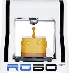 Buy RoBo 3D  R1 Plus  3D Printer  White