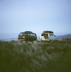 Foster Huntington Stopped Working for the Man and Started Living in a Van Vw T3 Syncro, Vw T1, Volkswagen, Foster Huntington, Combi Ww, T3 Camper, Vw Camping, Camping Stuff, Surf Trip