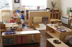 Toddler Environment and Curriculum