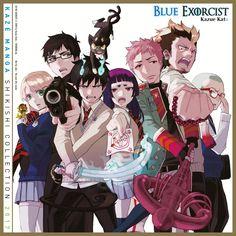 blue exorcist rin and shiemi * blue exorcist rin . blue exorcist rin x bon . blue exorcist rin x shiemi . blue exorcist rin x yukio . blue exorcist rin and shiemi . blue exorcist rin x izumo Ao No Exorcist, Blue Exorcist Anime, Rin Okumura, Mephisto, Fullmetal Alchemist, Tatsumaki One Punch Man, Super Manga, Manga Anime, Anime Art
