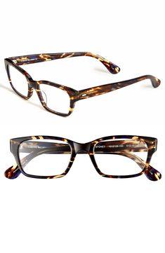 44022a6108ec Blue Rectangular Eyeglasses  125416