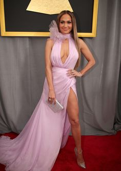 Jennifer Lopez Photos Photos - Actress/Singer Jennifer Lopez attends The 59th GRAMMY Awards at STAPLES Center on February 12, 2017 in Los Angeles, California. - The 59th GRAMMY Awards -  Red Carpet