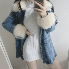 comfy and cute outfits Grunge Outfits, Trendy Outfits, Cool Outfits, Korean Fashion Trends, Asian Fashion, Cute Fashion, Teen Fashion, Fashion Pics, Tokyo Street Fashion