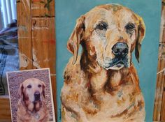 ENDS TODAY! http://www.coupaw.com/deal/Art-Sports  Save over 40% off of $195 on an original oil painting pet portrait only $120, ...INCLUDES SHIPPING! WOW!