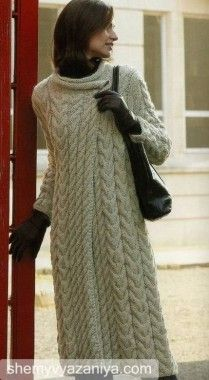 Hand Knit woman coat sweater made to order aran women's jacket women hand knitted dress sweater cardigan pullover clothing handmade Crochet Coat, Knitted Coat, Crochet Jacket, Mohair Sweater, Knit Sweater Dress, Crochet Clothes, Long Cardigan, Jumper, Long Jackets For Women