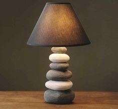 The ceramic lamp bedroom bedside creative simple modern fashion lovely warm warm light bedside lamp Table Lamps ZA American Retro, American Country, Rock Lamp, Retro Table Lamps, Lamp Table, Ceramic Table Lamps, Stone Lamp, Retro Bedrooms, Handmade Lamps