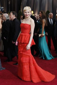 Red Carpet Report: Michelle Williams in Louis Vuitton and Fred Leighton for Forevermark.