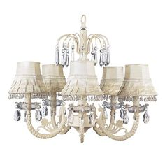 Or this one??? Water Fall Ivory Five-Light Chandelier