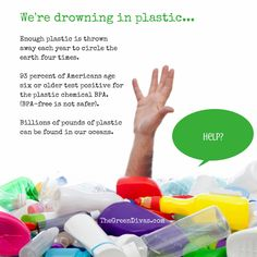 But where does all this plastic go? We ship some of it overseas to be recycled. Quite a bit ends up in