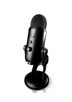 The Blue Yeti USB Microphone ($110+) is a solid mid-tier choice for voice quality and used by many. | 23 Things Every Twitch Streamer Needs