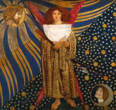 Dante Gabriel Rossetti, 'Dantis Amor' 1860
