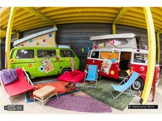 BaseCamp Bonn for themed overnight stays in Germany from GoUnusual