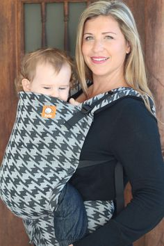 Didymos Houndstooth Anthracite TULA BABY CARRIER