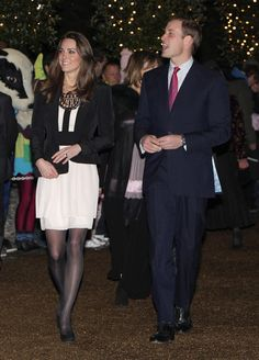 Kate Middleton - Prince William and Catherine Middleton attend a Christmas Spectacular