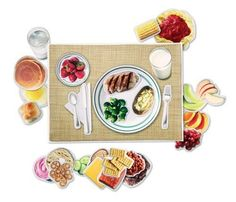 Learning Resources Magnetic Healthy Foods 3 years & up. Have fun while building healthy breakfast, lunch and dinner plates with foods that represent the 6 main food groups. Includes 34 illustrated magnetic pieces, 12″W x 16 1/2″L wipe-on/wipe off magnetic placemat, menu pad and suggested activities.