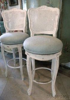 shabby chic bar stools
