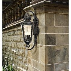 """Casa Marseille 31"""" High Outdoor Wall Lamp - #47729 