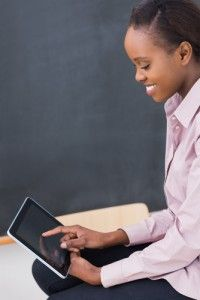 Educators—and students—are enthusiastic about tablets, but the new technology can be problematic.