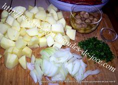 Poêlée de pommes de terre fondantes aux merguez et champignons