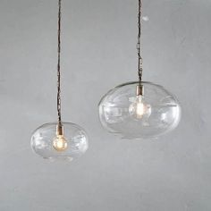Organically shaped, beautifully made glass pendant lights Ceiling Light Fittings, Ceiling Light Design, Glass Ceiling Lights, Ceiling Rose, Ceiling Pendant, Pendant Lighting, Ceiling Lighting, Round Pendant Light, White Pendant Light