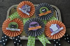 Ribbons for the costume contest and pumpkin decorating contest.