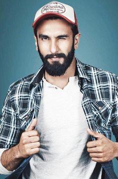 Ranveer Singh. Ranveer Singh Hairstyle, Ranveer Singh Beard, Shahrukh Khan And Kajol, Deepika Ranveer, Indian Celebrities, Bollywood Celebrities, Bollywood Stars, Bollywood Fashion, Model Poses Photography