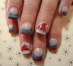 Santa Hats by dcgroves Nail Art Gallery nailartgallery.na by Nails Magazine Santa Hats by dcgroves Nail Art Gallery nailartgallery.na by Nails Magazine Christmas nails are that necessary component of your good vacation look. Christmas Nail Art Designs, Holiday Nail Art, Winter Nail Art, Winter Nails, Cute Christmas Nails, Xmas Nails, Simple Christmas, Christmas Stuff, Love Nails
