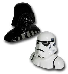 Images of Star Wars Vader & Trooper Salt & Pepper Shakers