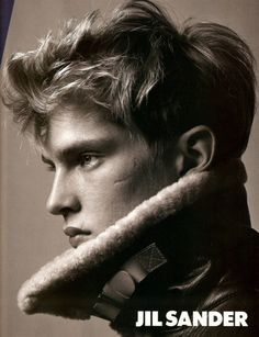 Mathias Lauridsen by David Sims for the Jil Sander