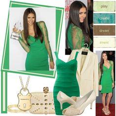 """Nina Dobrev"" created by #kristycullen, #polyvore #fashion #style Tara Jarmon Stuart Weitzman Tiffany & Co. Alexander McQueen nina dobrev"