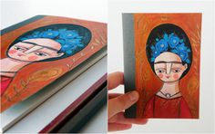 Hand Painted Frida Kahlo journal  Etsy.com/Ireneagh