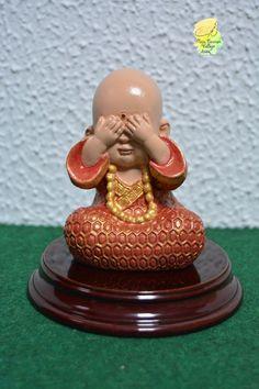 Buda pintado a mano (Ver)