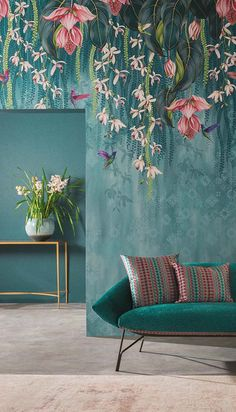 Trailing Orchid from the FOLIUM Wallpaper CollectionYou can find Designer wallpaper and more on our website.Trailing Orchid from the FOLIUM Wallpaper Collection Wallpaper Design For Bedroom, Wallpaper Decor, Home Wallpaper, Designer Wallpaper, Orchid Wallpaper, Interior Design Wallpaper, Wallpaper Designs For Walls, Floral Wallpapers, Wallpaper Desktop