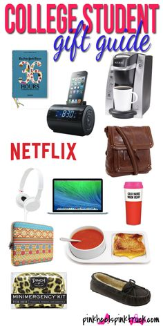 Have a College Student in your life? Not sure what to get them? Check out this Gift Guide for College Students