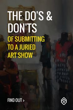 Don't throw money away. Artist and juror Heather Arenas weighs in on the best practices for submitting to juried art shows. Creative Business, Business Tips, Price Artwork, Sell My Art, Process Art, Pretty Art, Art Market, Art Techniques, Business Marketing