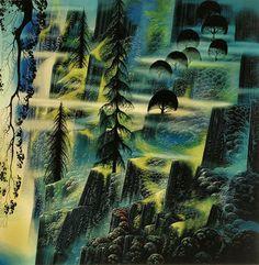 Mythical Landscapes From Legendary Artist, Eyvind Earle
