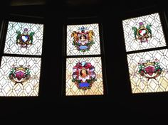 Stained glass windows at Byers Hall at #CCAC #Allegheny Campus. #CCACisBeautiful